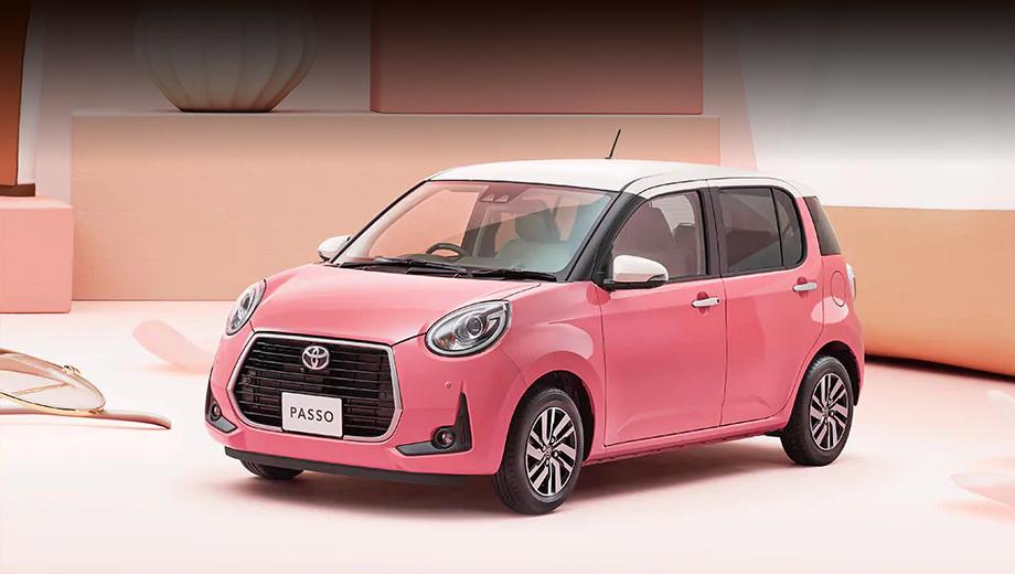 Специально для дам придумана Тойота Passo Moda Charm
