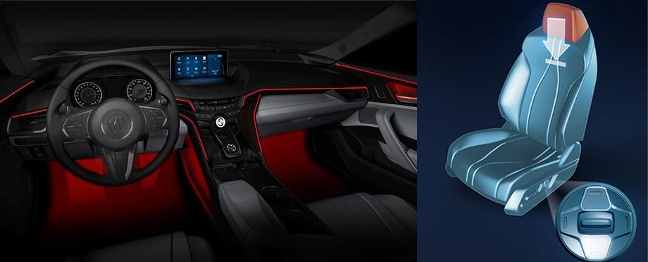 Седан Acura TLX получит интерьер откроссовера RDX