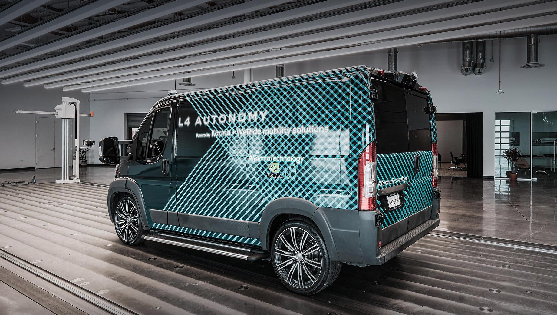 Фургон Karma E-Flex Van вышел на четвёртый уровень автопилота