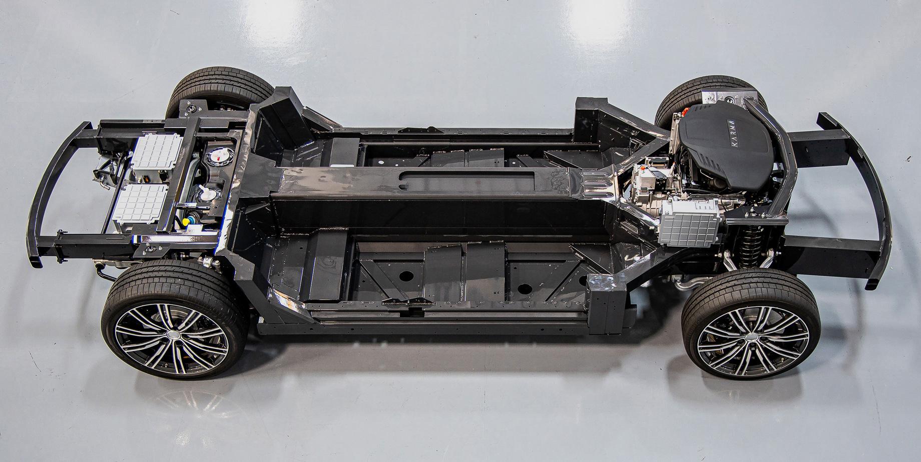 Фургон Karma E-Flex Van вышел начетвёртый уровень автопилота