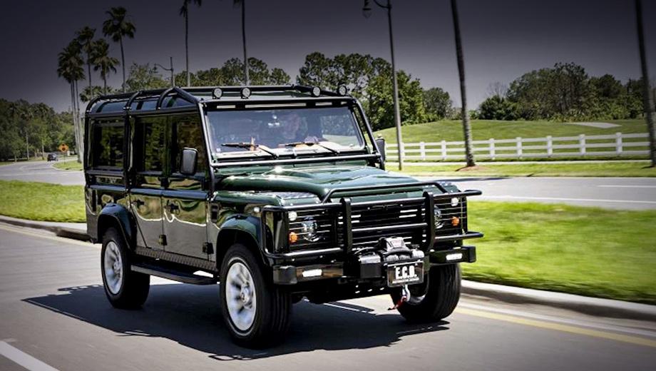 Land Rover Defender получил в ателье E.C.D. мотор V8 6.2
