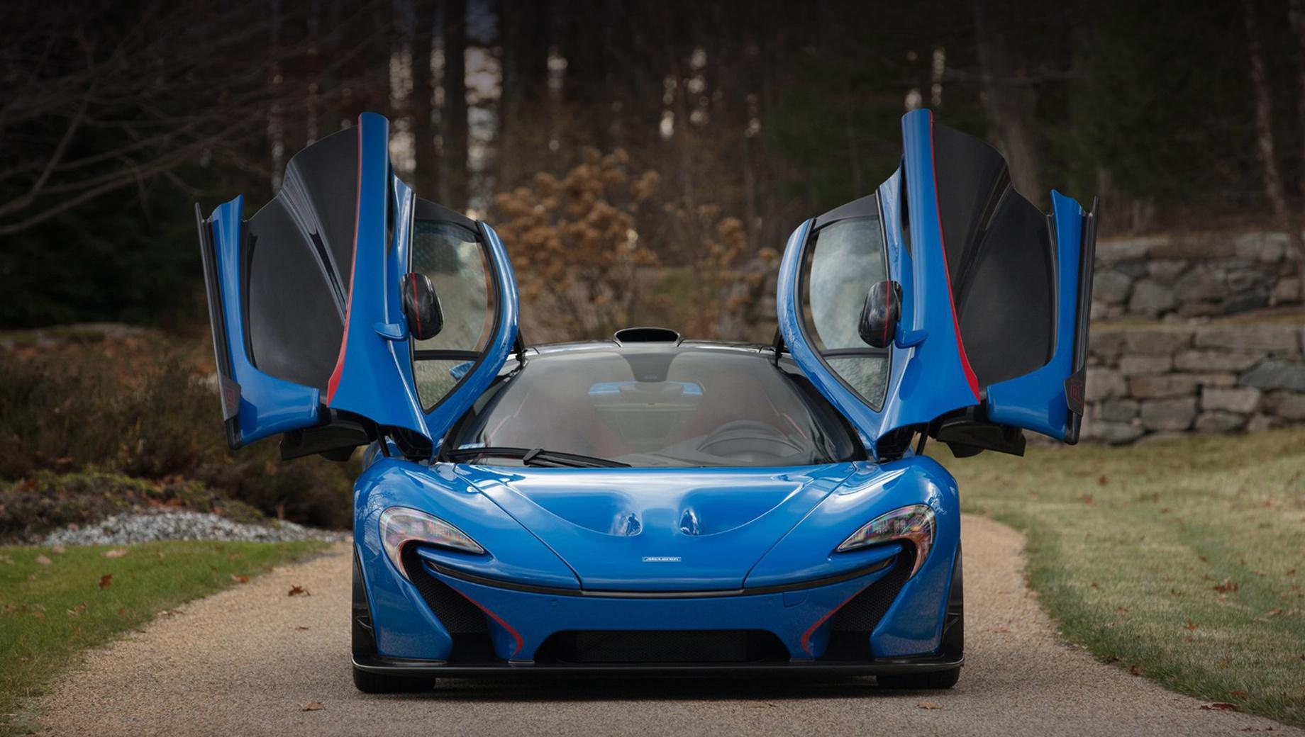 Новый гиперкар McLaren P1 появится не раньше 2024 года