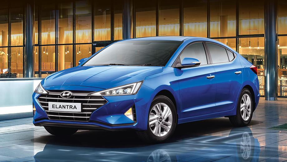 Дизельный седан Hyundai Elantra потеряет в мощности