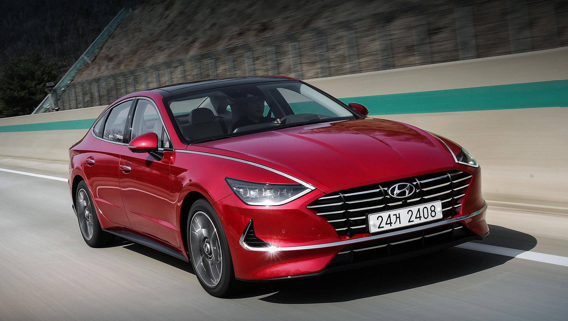 Седан Hyundai Sonata улучшился на родном рынке