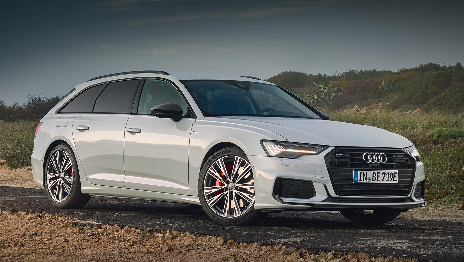 Гибридный Audi A6 Avant 55 TFSI e растерял в практичности