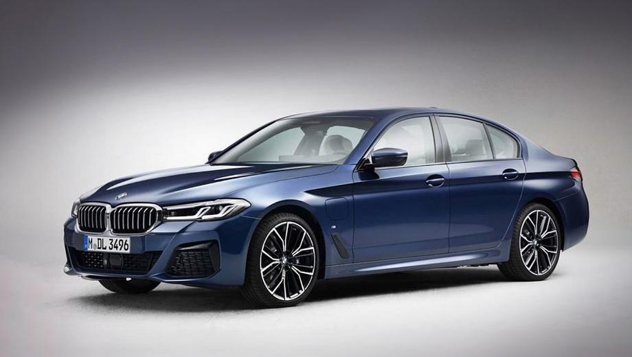 Обновлённая «пятёрка» BMW будет похожа на «трёшку»