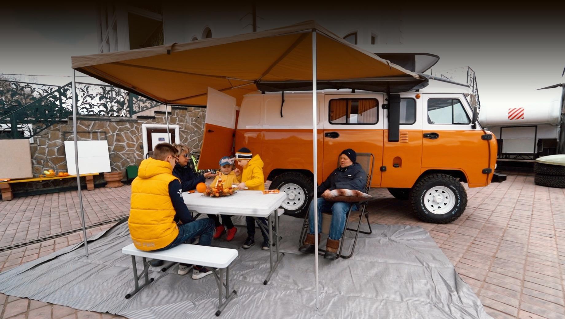 Кемпер УАЗ «Байкал» предложен с большим набором опций
