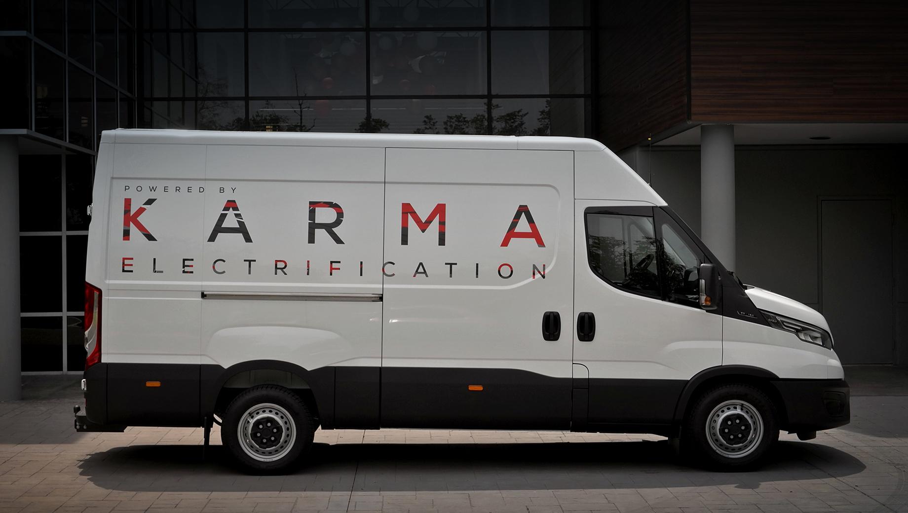 Архитектура Karma E-Flex адаптирована для комтранса