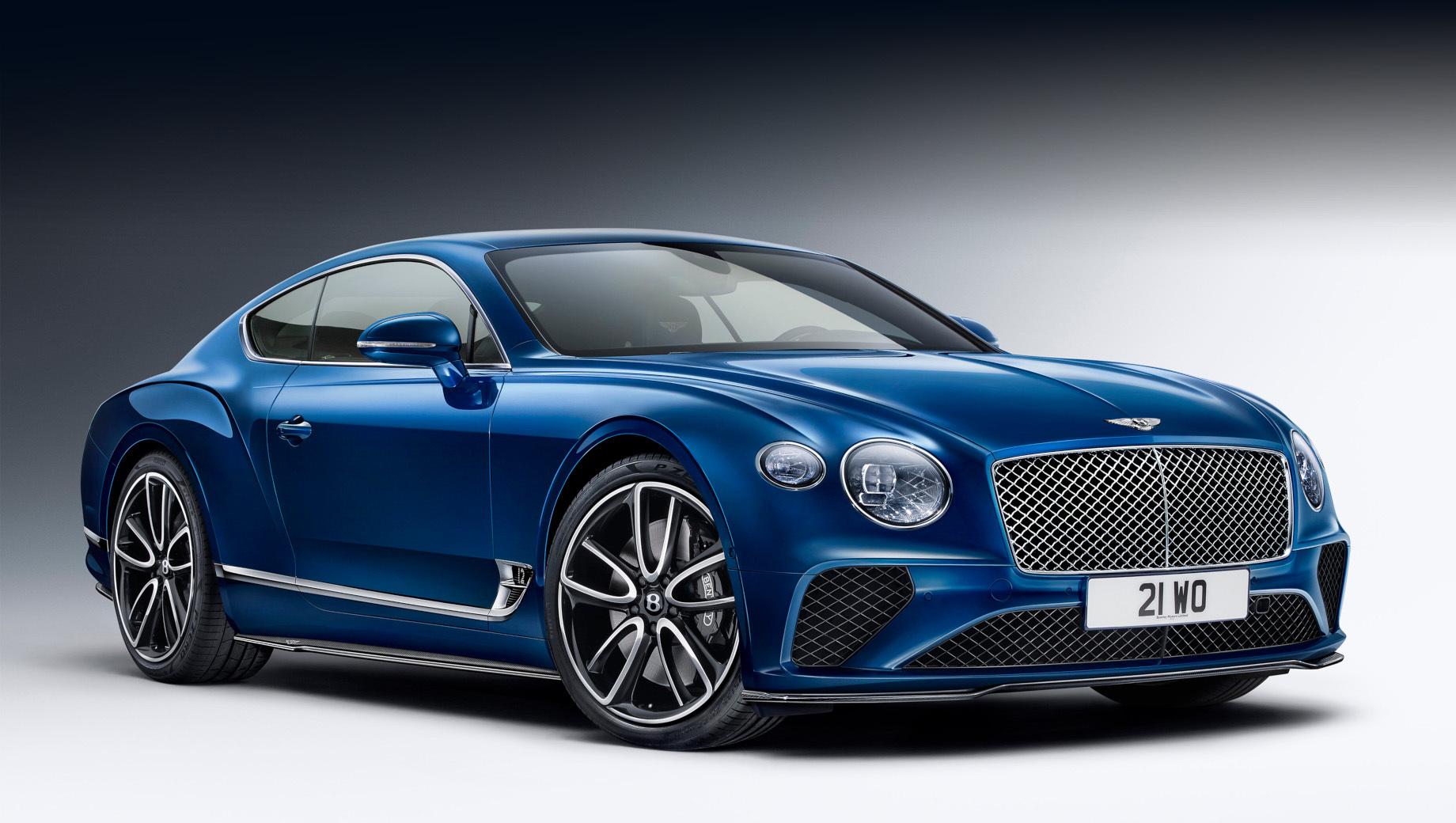 Пакет Bentley Styling объединил дизайн и аэродинамику