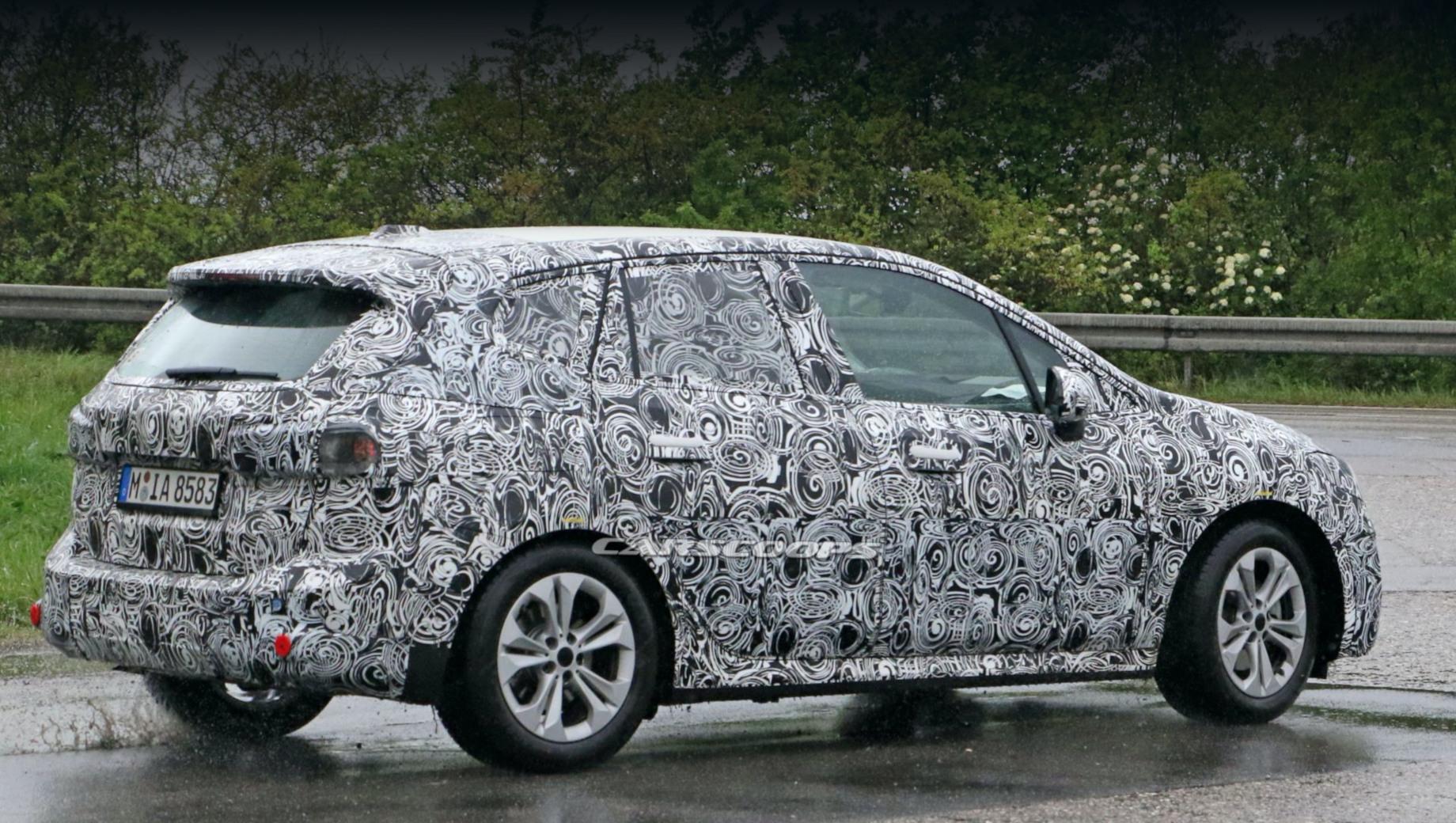 «Второй» BMW Active Tourer заменит собою две модели