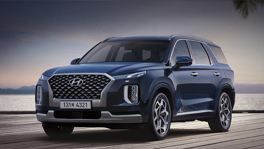 Hyundai Palisade видоизменился для Кореи в дорогих версиях