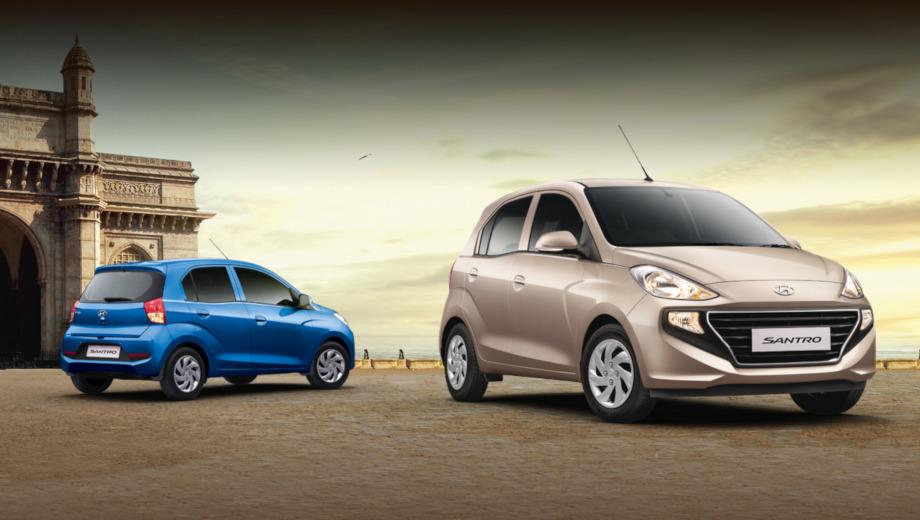 Hyundai ax. Santro оснащён четырёхцилиндровым бензиновым мотором 1.1 Epsilon MPi с отдачей 69 л.с. и 99 Н•м. Он сочетается с пятиступенчатыми «механикой» или «роботом» Smart Auto AMT. Есть версия того же мотора на метане (60 л.с. и 85 Н•м). Ту же начинку индийские журналисты прочат и собрату AX.