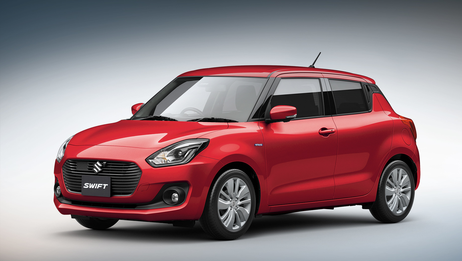 Suzuki swift. Консерватизм при модернизации обусловлен в том числе успехом модели Suzuki Swift. На сегодняшний день в мире продано свыше 6,5 млн Свифтов всех поколений, а особенно компактный автомобиль любят в Индии, Японии и Австралии. На фото — дорестайлинговая машина четвёртого поколения