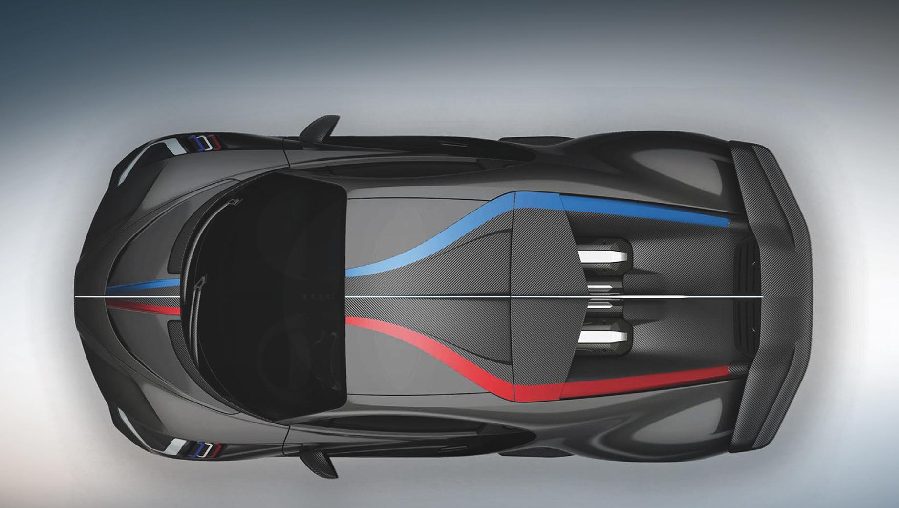 Фирма Bugatti показала четыре персонализированных купе Divo