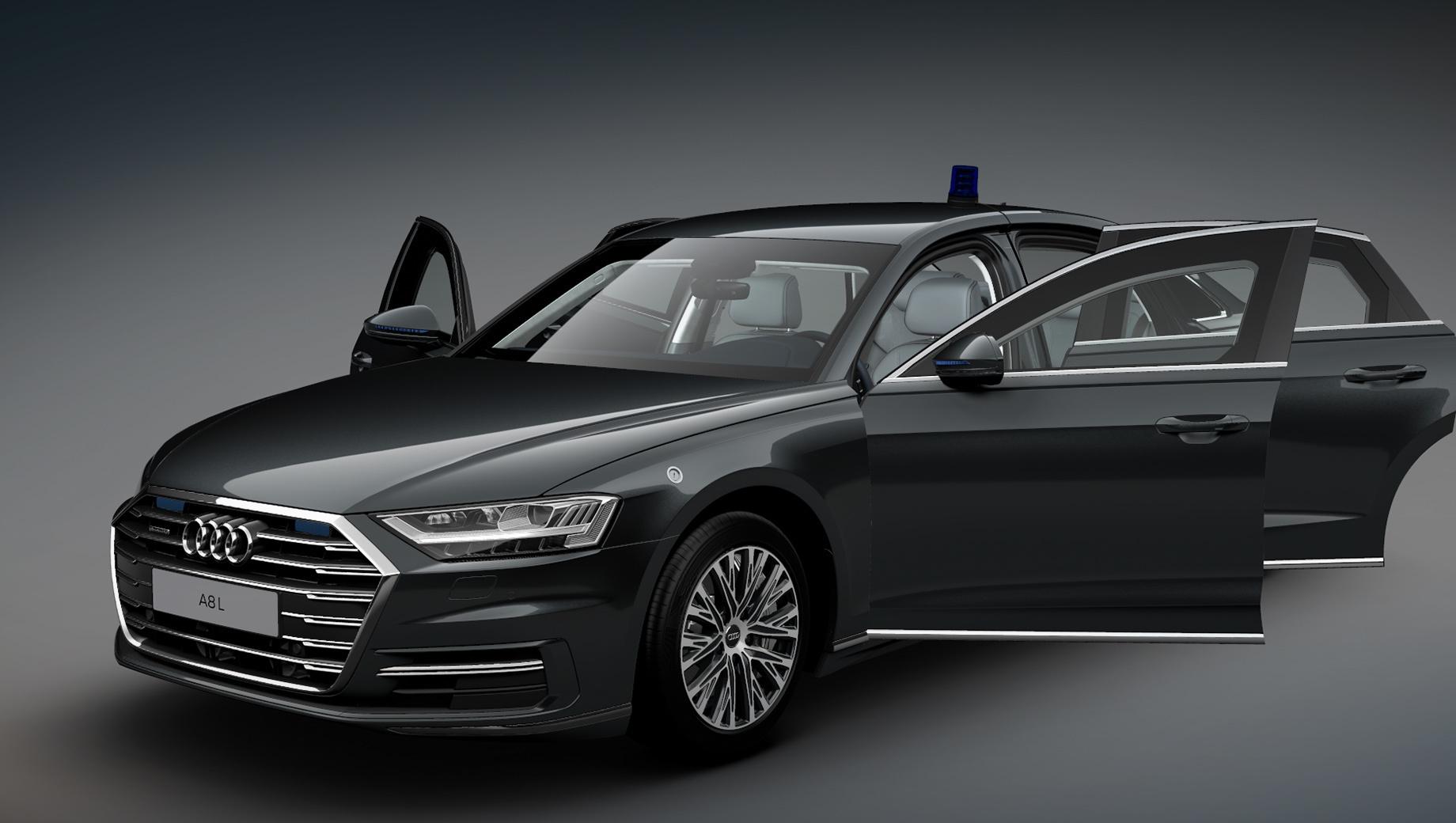 В России открылся приём заказов на броневик Audi A8 L Security