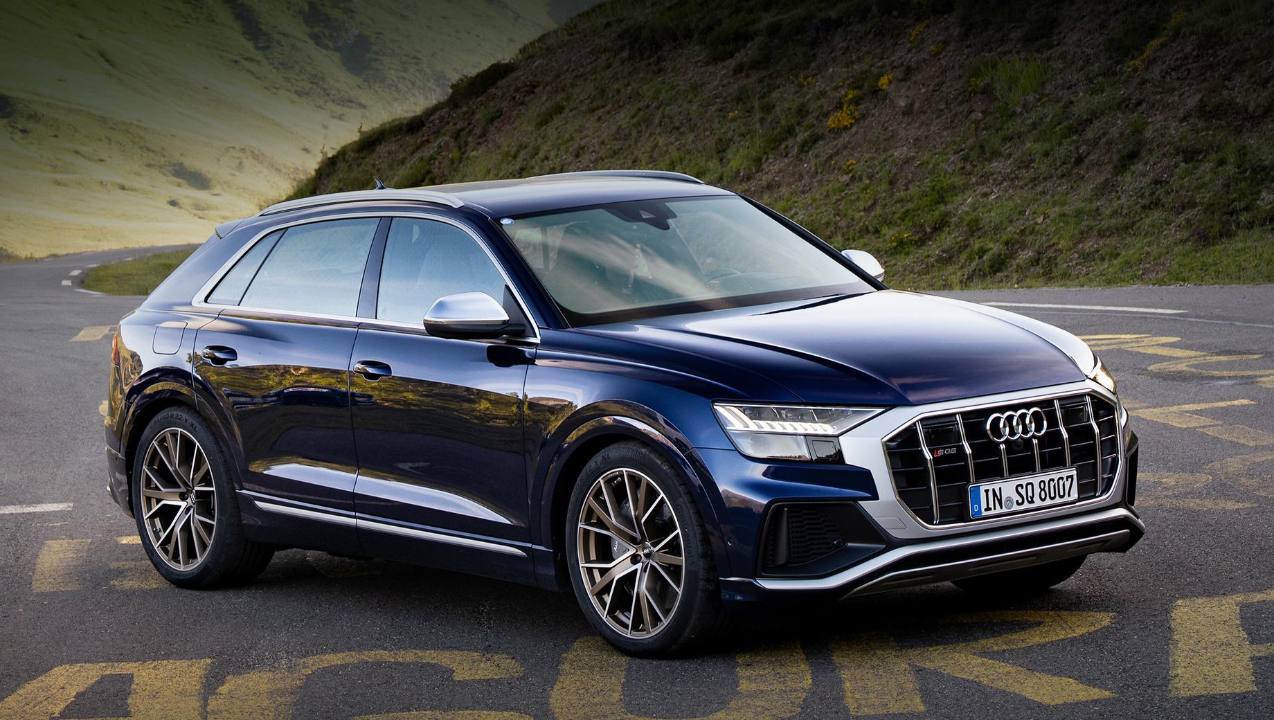 В России открылся приём заказов на дизельный Audi SQ8