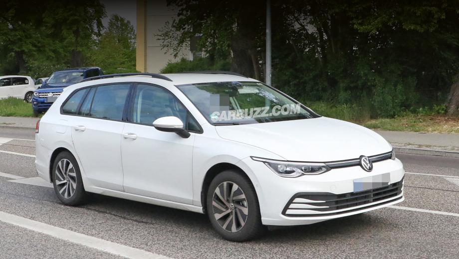 Универсал Volkswagen Golf окажется существенно просторнее хэтчбека