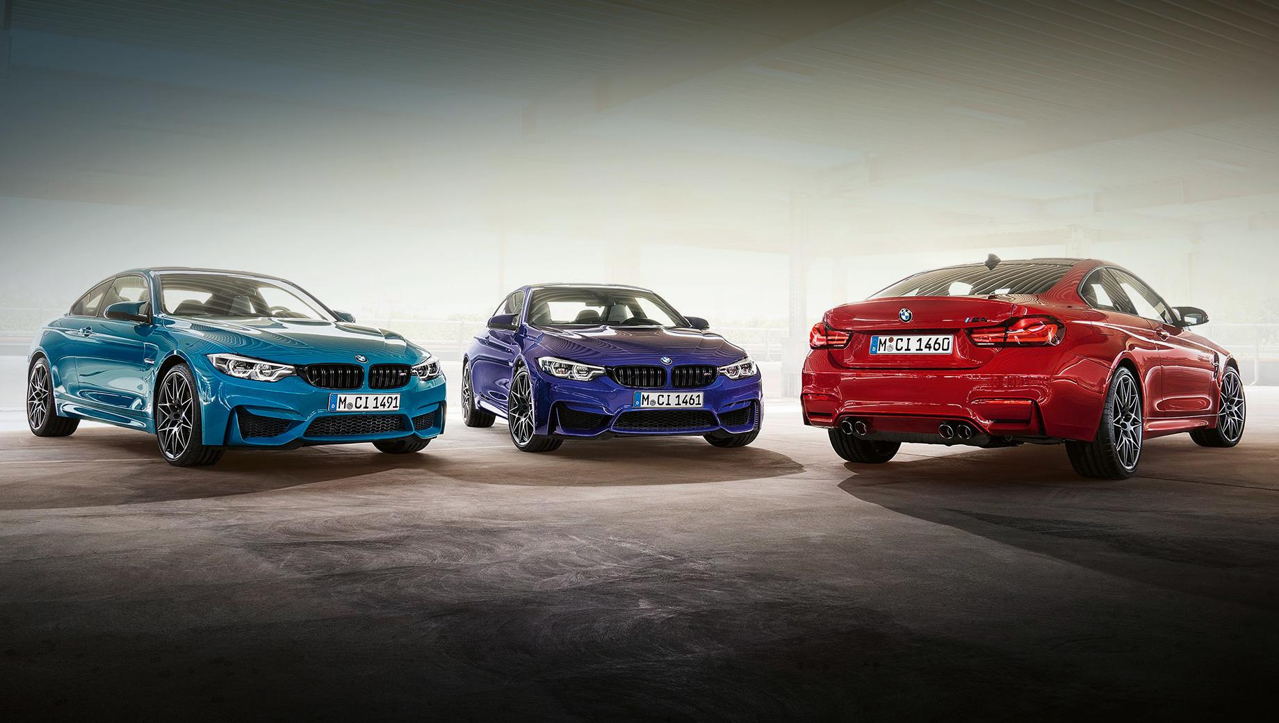 Дополнено: Купе BMW M4 Edition ///M Heritage козырнуло отделкой