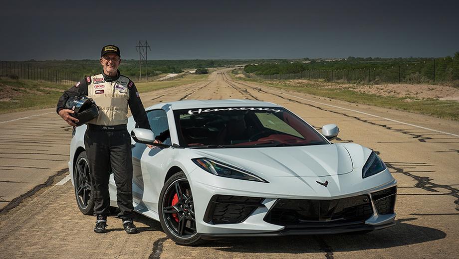 Ателье Hennessey первым разогнало Corvette C8 до 330 км/ч
