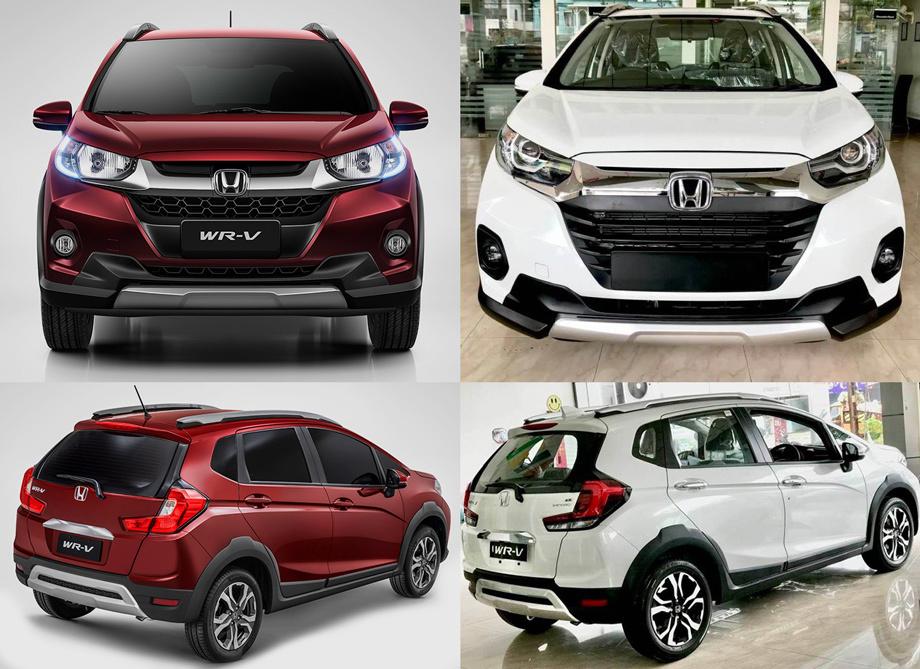 Субкомпакт Honda WR-V экономно обновится в Индии