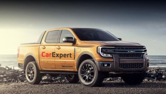 Ford ranger,Ford everest,Ford ranger 2022,Ford everest 2022. Этот рисунок сделан журналом CarExpert на основе утекших снимков прототипа следующего Рейнджера.