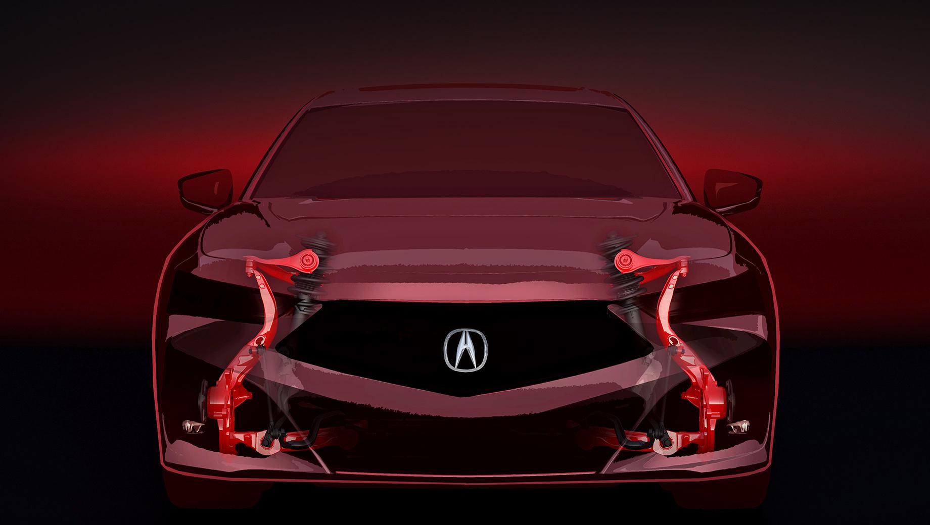 Седан Acura TLX получит оригинальную платформу