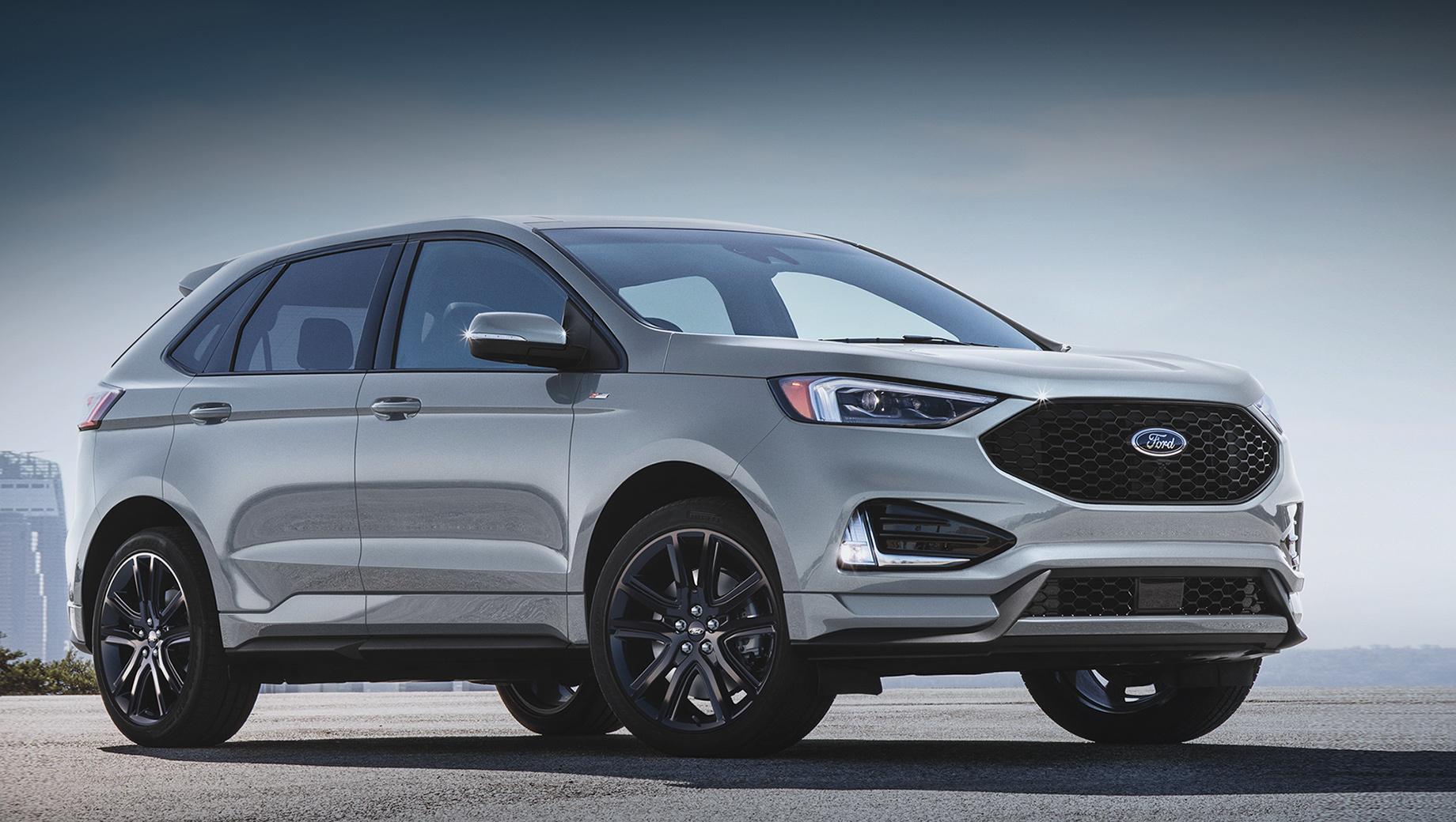 Ford edge. В 2019 году Ford Edge оказался пятым по объёму продаж в США среди одноклассников. Кроссовер нашёл 138 515 покупателей против 134 122 годом ранее. Интересно, что за последние полтора года версию ST выбрали около двадцати тысяч человек.