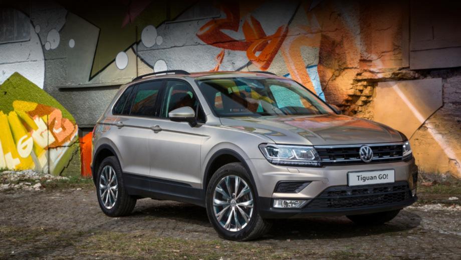 Volkswagen Tiguan GO! получил расширенный список оборудования