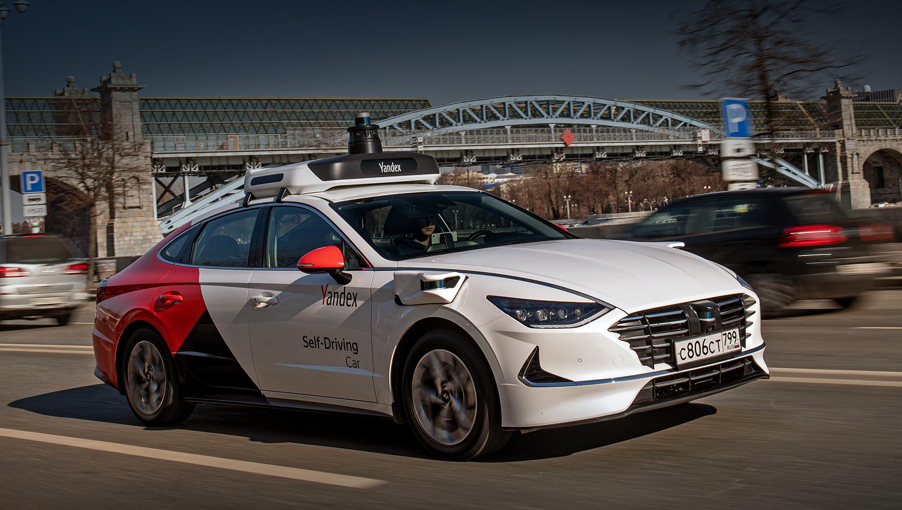 Беспилотник Hyundai Sonata вдвое увеличит автономный парк Яндекса