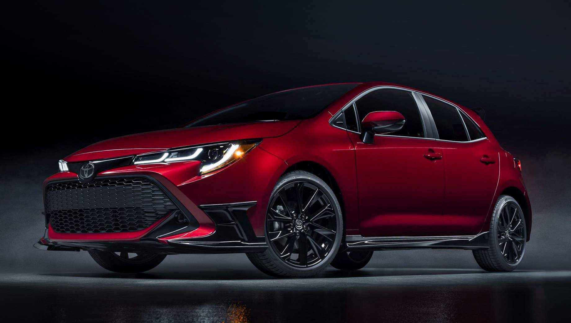 Toyota Corolla Special Edition подготовит американцев к спорту