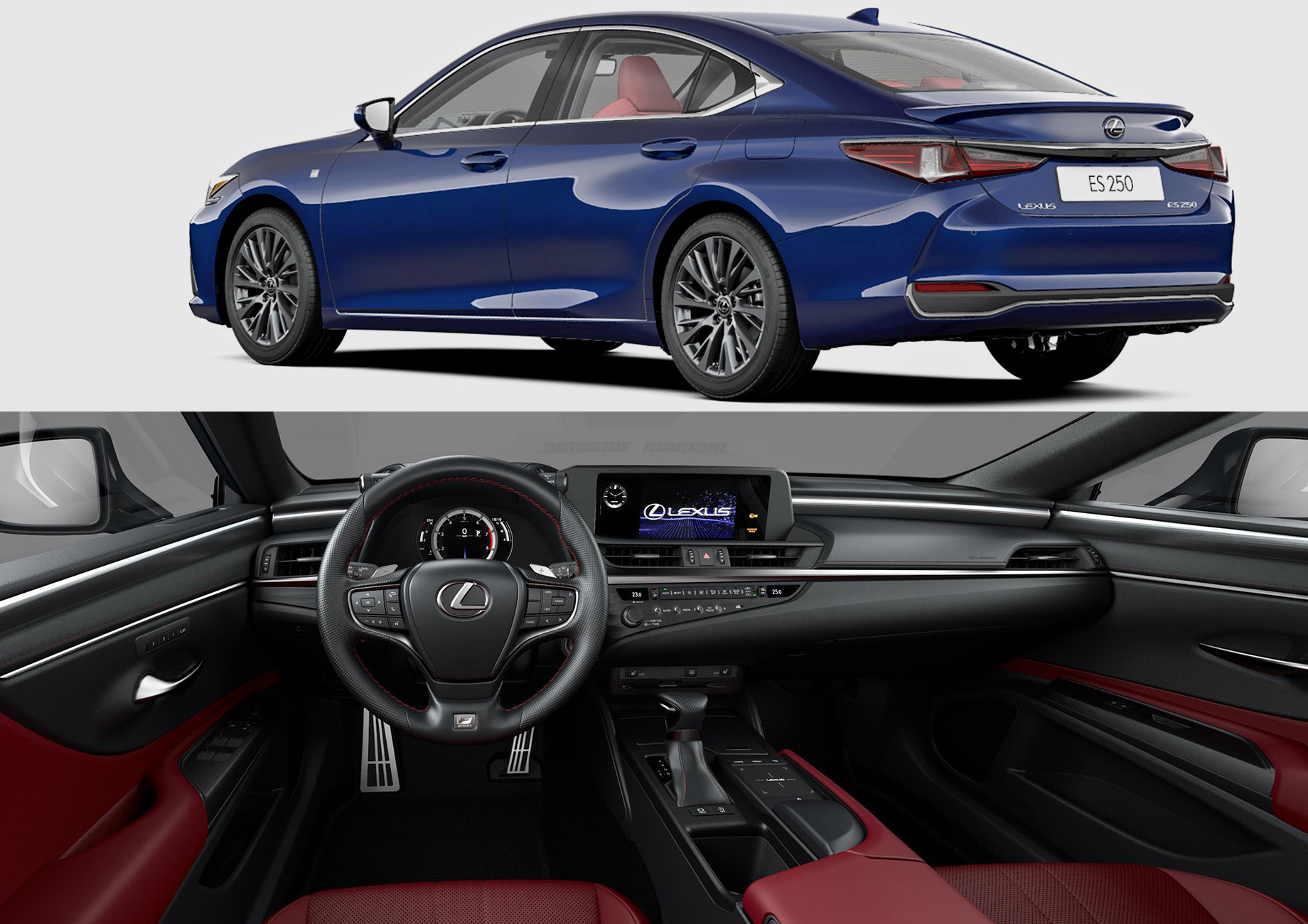 Lexus ES 250 предложен в России с пакетом F Sport — ДРАЙВ