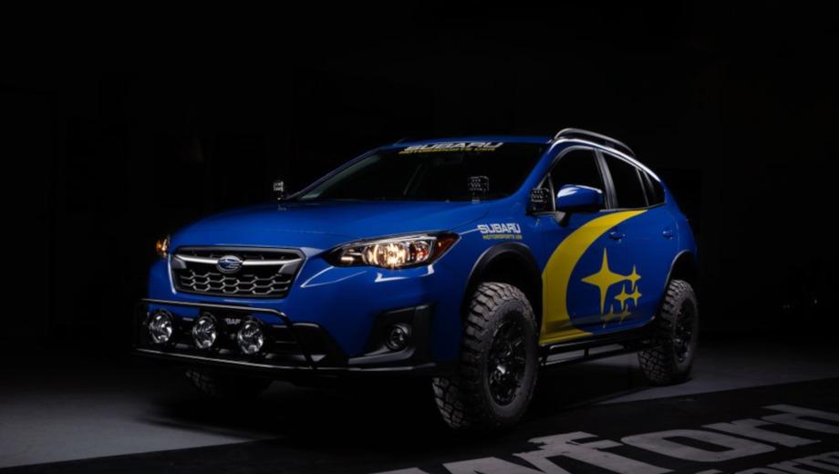 Ателье Crawford приподняло паркетник Subaru Crosstrek