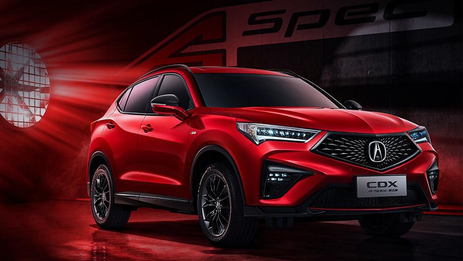 Acura CDX наряжена спортсменкой в топ-версии A-Spec