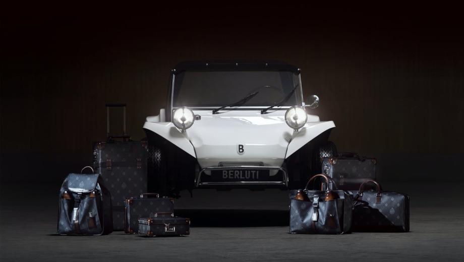 Berluti Buggy добавлен к роскошной багажной коллекции