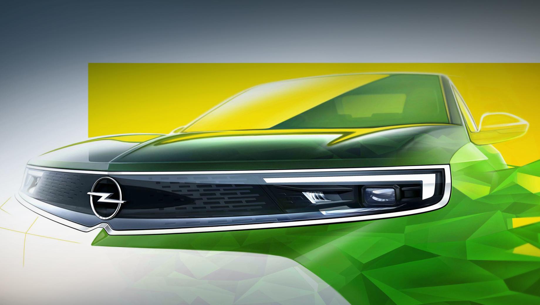 Кроссовер Opel Mokka первым примерит новый дизайн