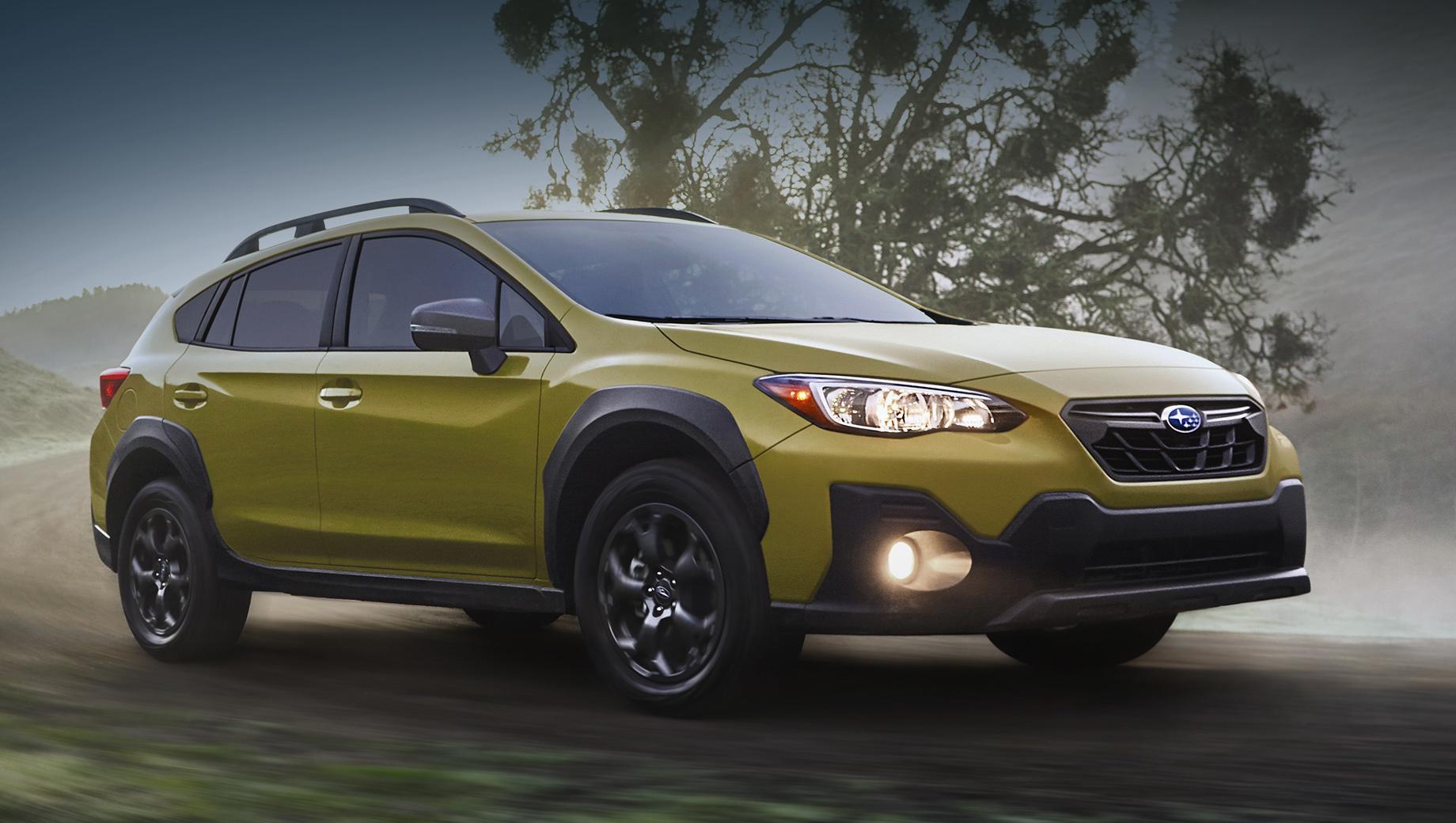 Subaru Crosstrek обогащён к новому модельному году
