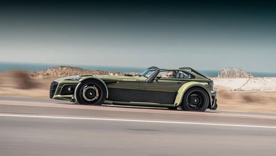 Donkervoort D8 GTO-JD70 раскрыл детали конструкции