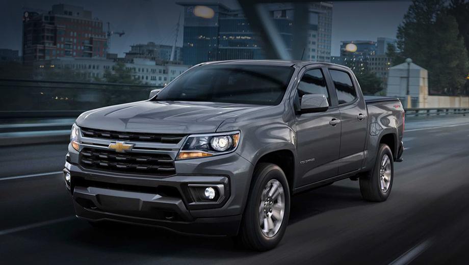 Chevrolet Colorado претерпел подтяжку лица в США