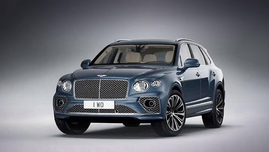Модель Bentley Bentayga получилась менее консервативной внутри