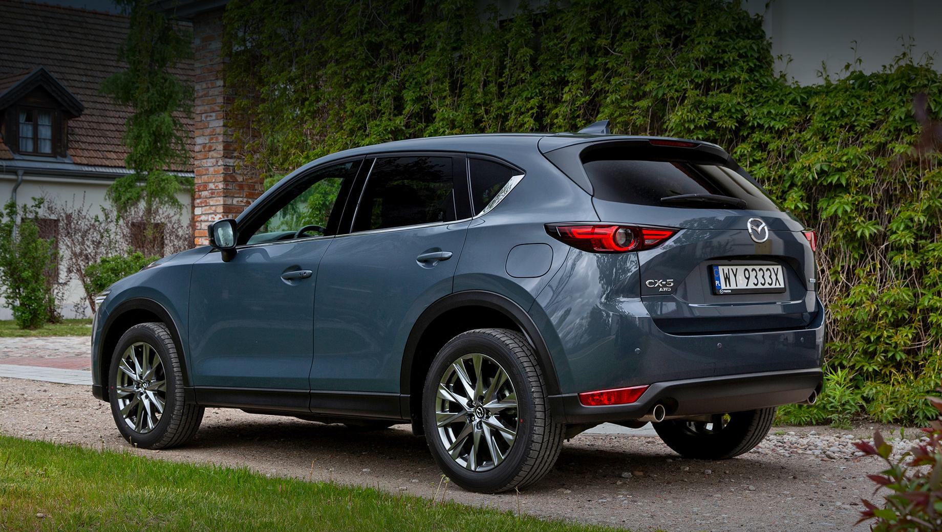 Европейская Mazda CX-5 прошла точечную модернизацию