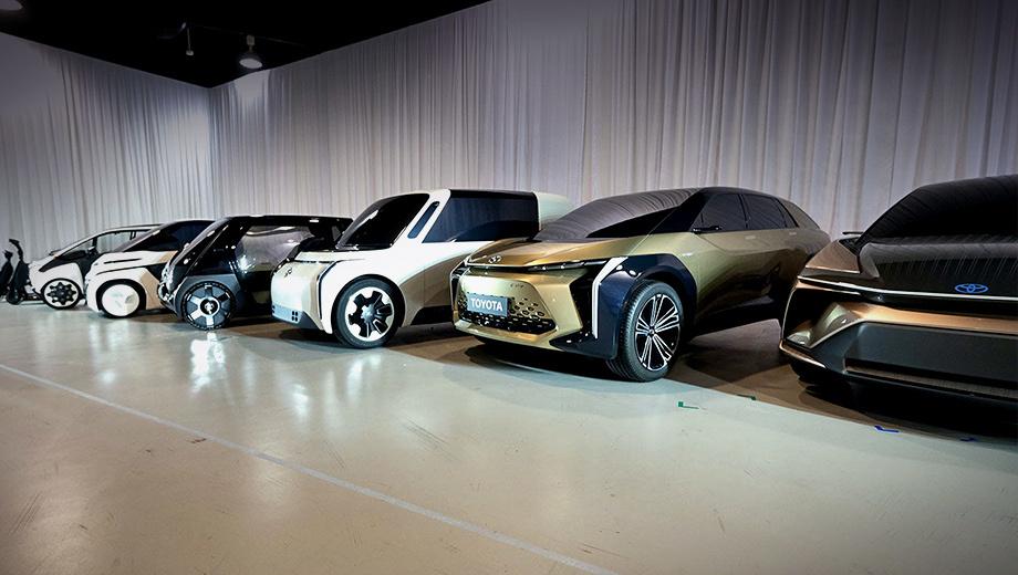 Toyota запатентовала в Китае электрокары на платформе e-TNGA