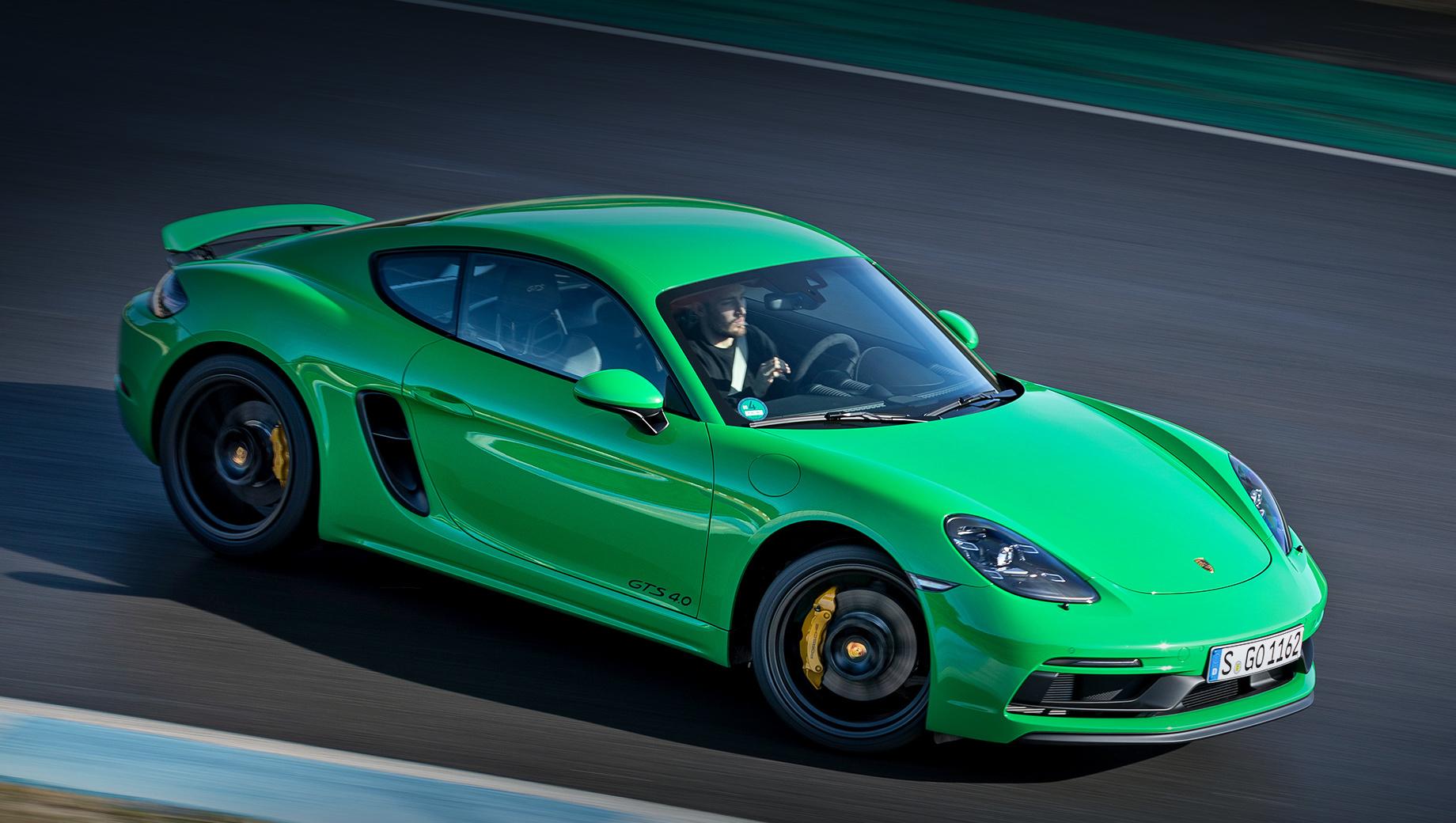Porsche 718 Boxster и Cayman обогащены для рынка США