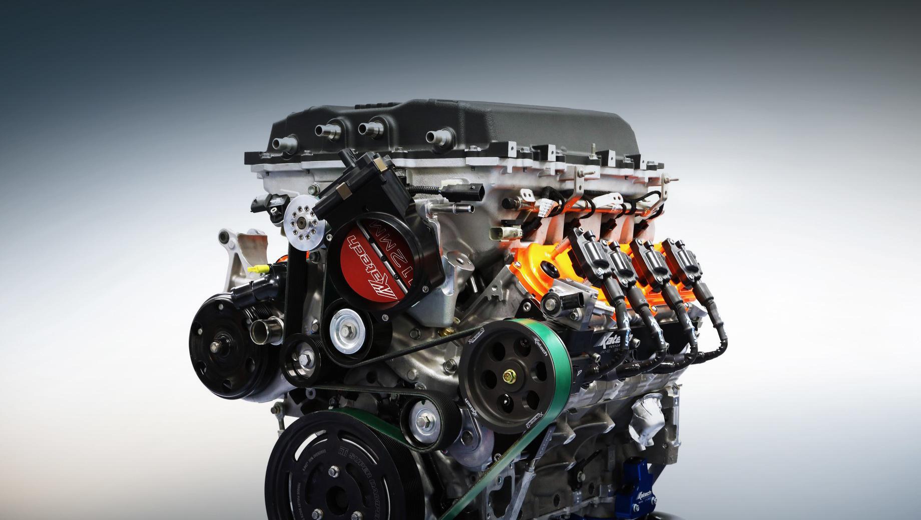 Бюро Katech предложит свою версию мотора V8 LT5