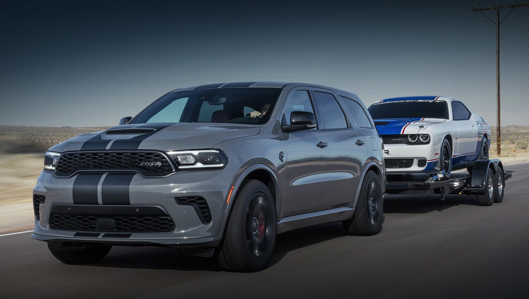 Обновлённый Dodge Durango разжился версией SRT Hellcat
