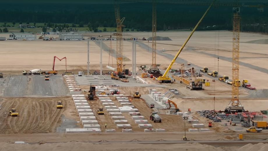 Фирма Tesla изменила проект завода Gigafactory Berlin