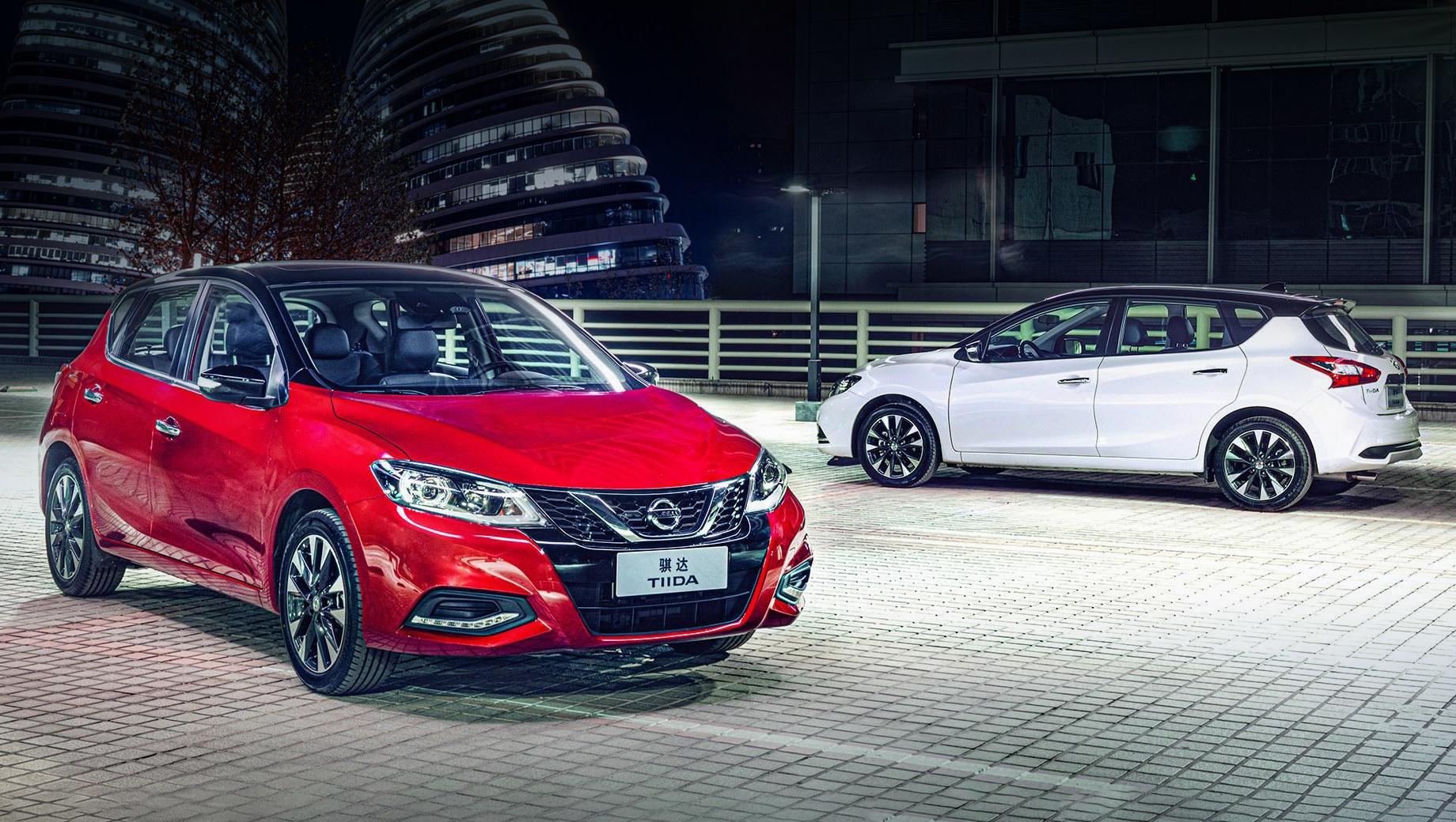 Хэтчбек Nissan Tiida немного улучшился для рынка Китая