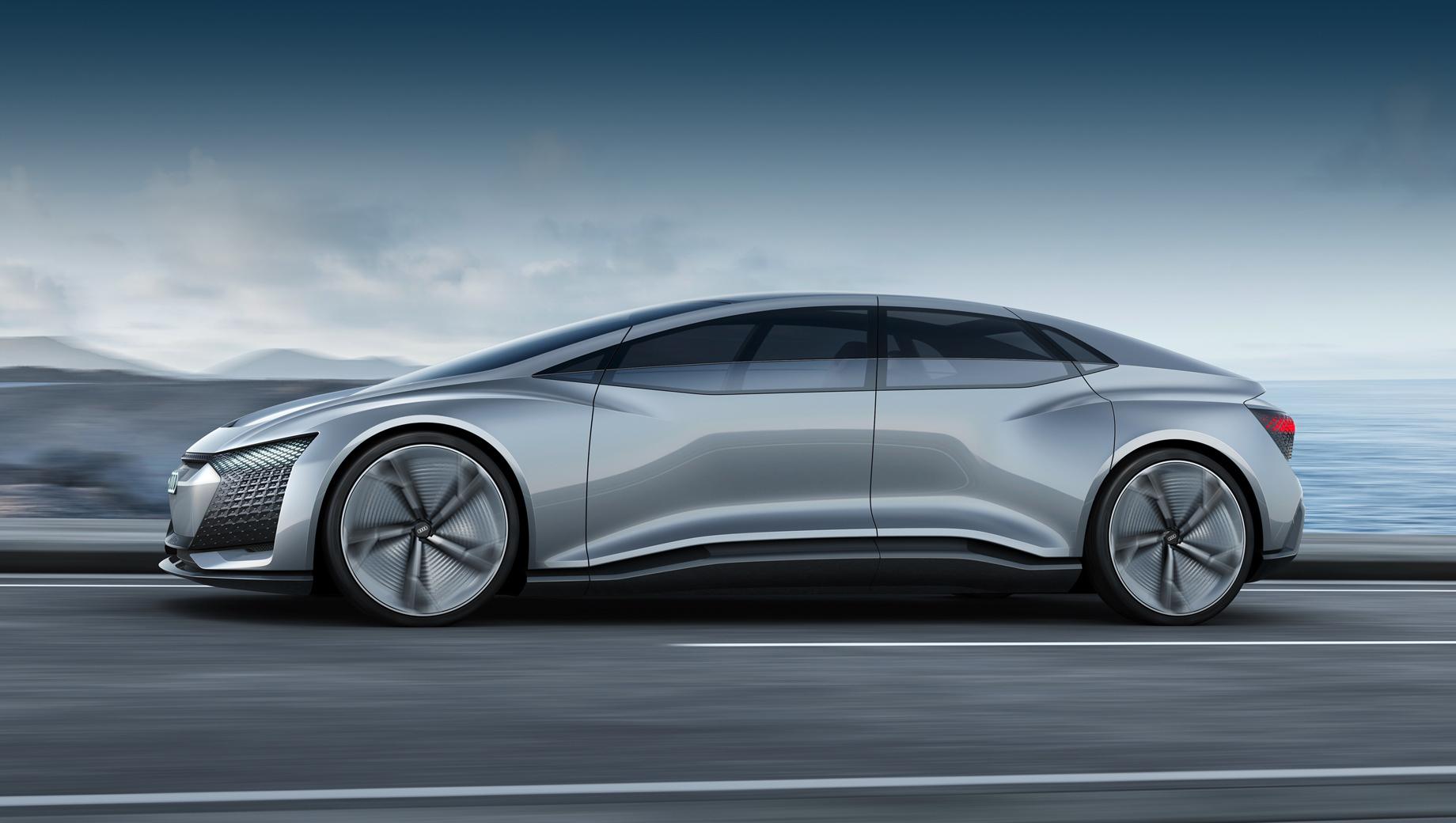 Audi a9,Audi a9 etron. Электрокар с индексом A9 будет черпать вдохновение в концепте Audi Aicon 2017 года, с поправкой на время, конечно.