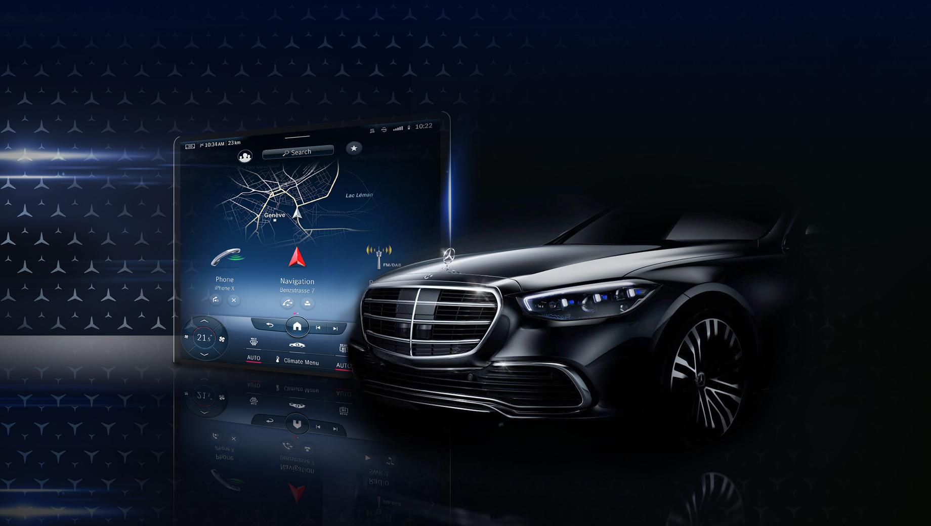 Mercedes s. Мы уже видели шпионские фотографии автомобиля без маскировки, потому очередные тизеры от самой фирмы не станут откровением. А вот мелкие детали в дизайне и особенности конструкции ещё предстоит разобрать.