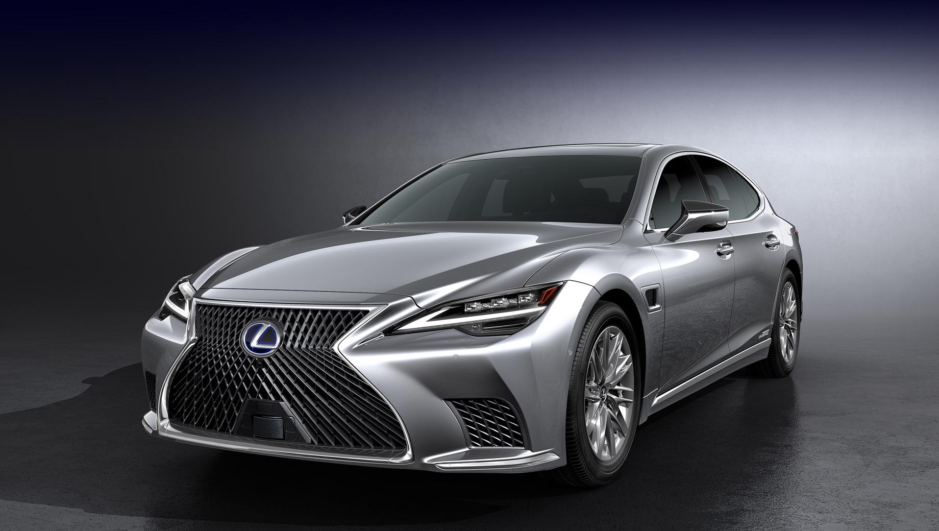 Lexus LS предъявил «фары-сканеры» и продвинутый автопилот