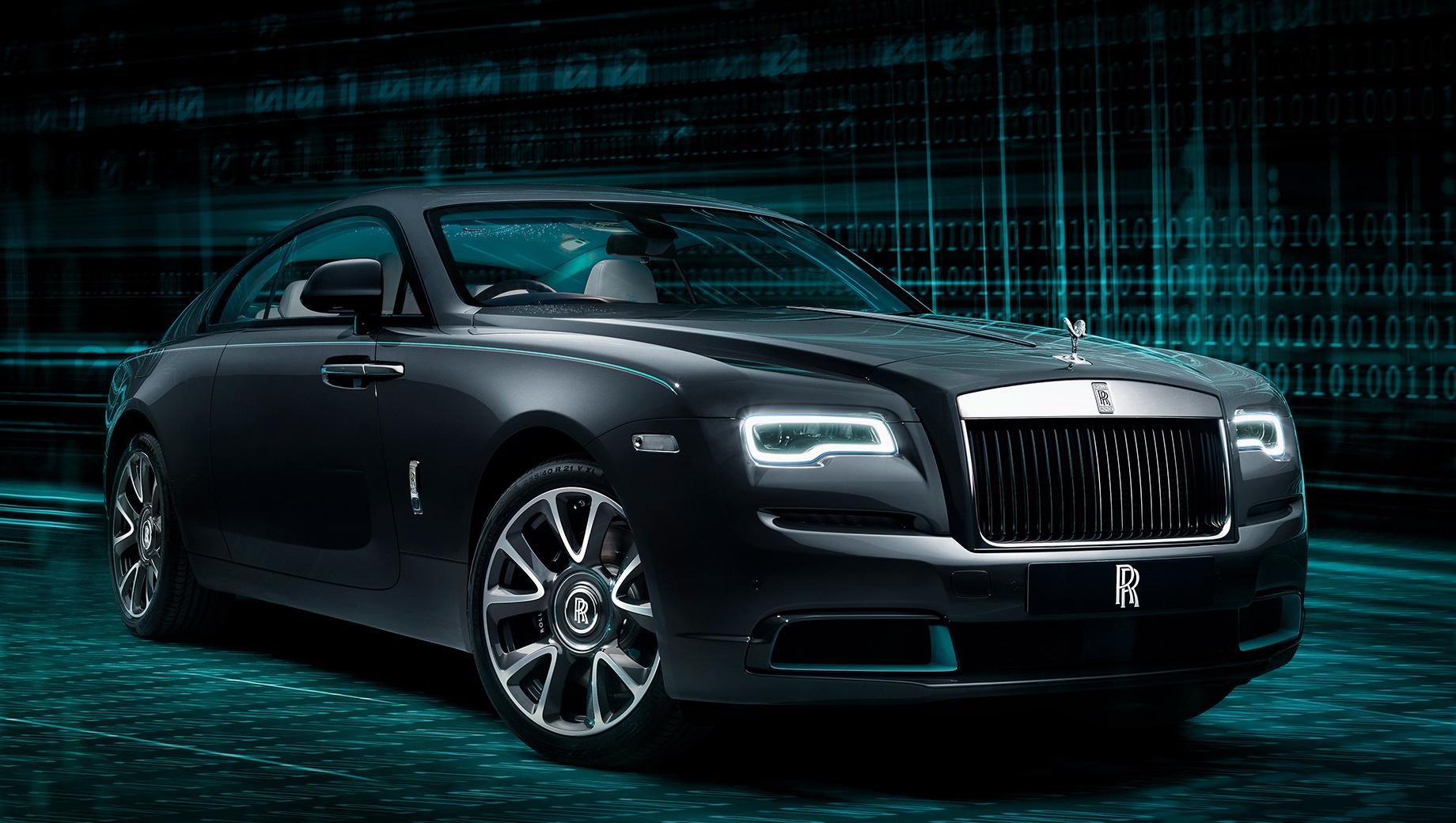 Rolls-Royce Wraith Kryptos озадачит владельца шифровкой